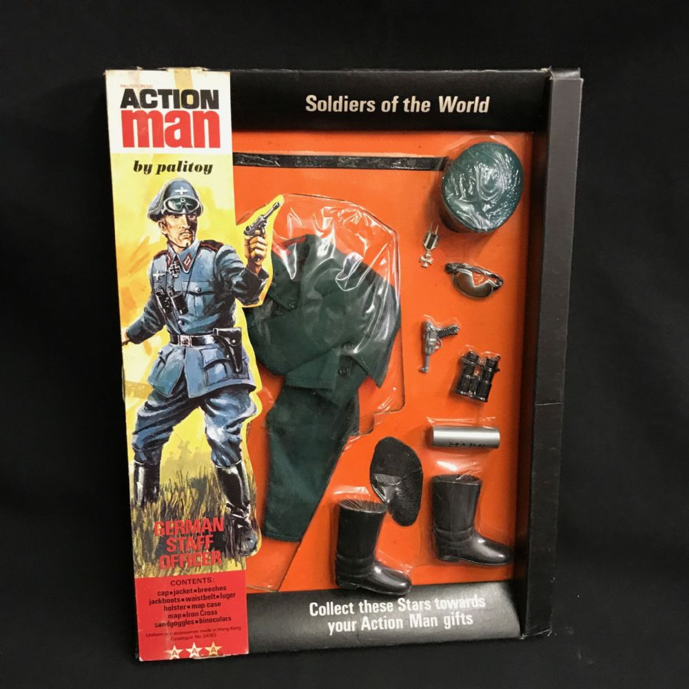 Vintage Action Man German Staff Officer Soldiers Of
